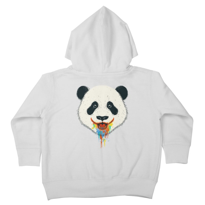 PANDA Kids Toddler Zip-Up Hoody by netralica's Artist Shop