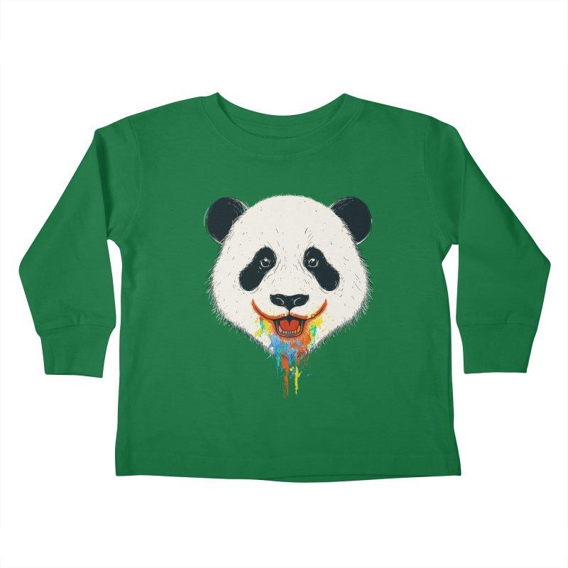 PANDA Kids Toddler Longsleeve T-Shirt by netralica's Artist Shop