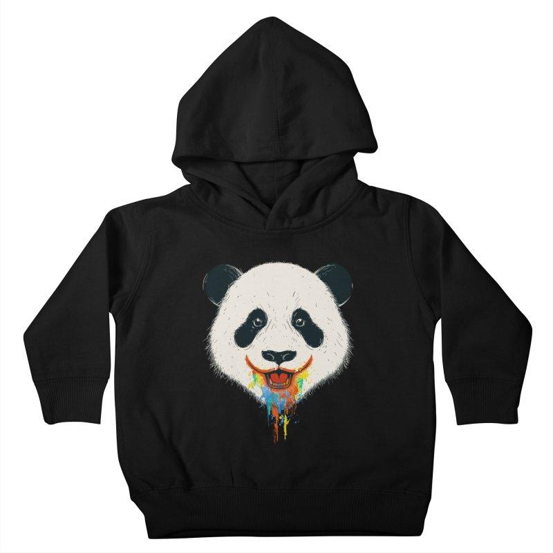 PANDA Kids Toddler Pullover Hoody by netralica's Artist Shop