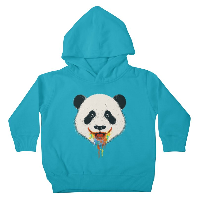 PANDA Kids Toddler Pullover Hoody by netralica's Artist Shop