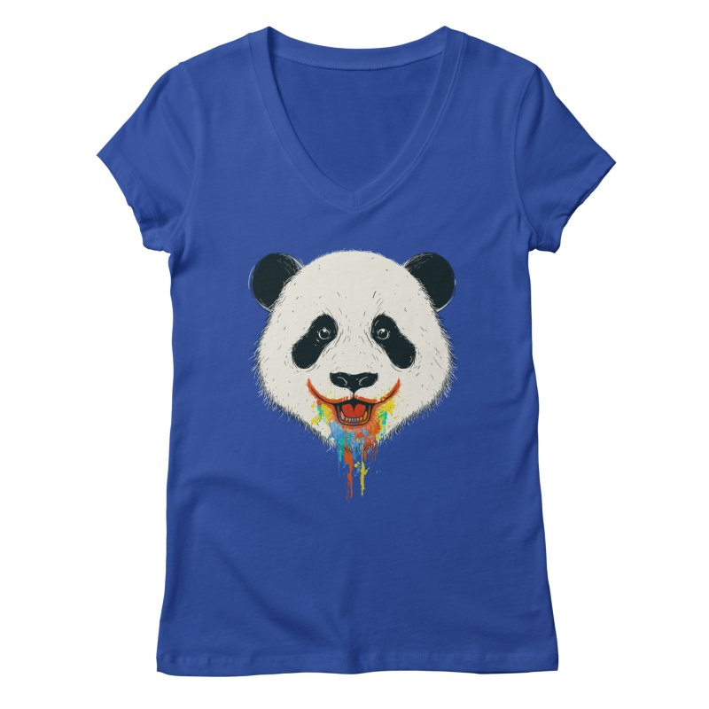 PANDA Women's Regular V-Neck by netralica
