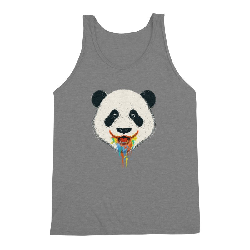 PANDA Men's Triblend Tank by netralica's Artist Shop