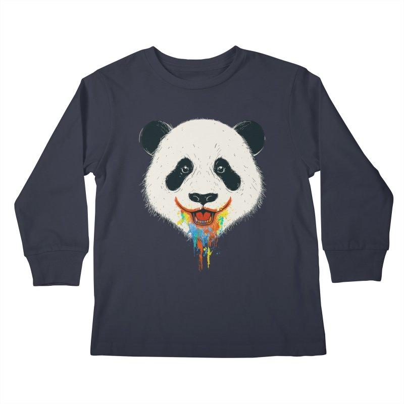 PANDA Kids Longsleeve T-Shirt by netralica