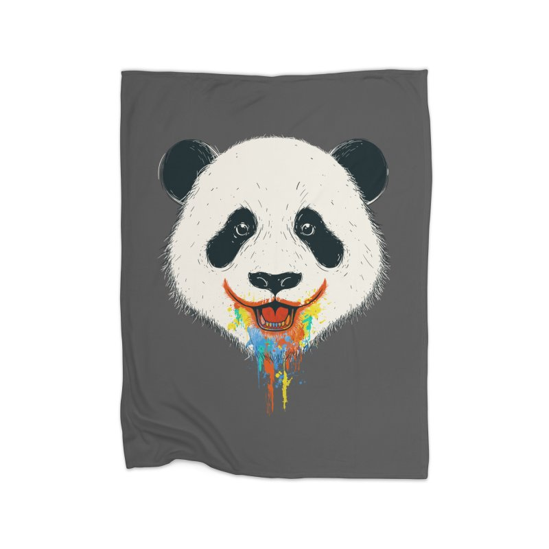 PANDA Home Blanket by netralica's Artist Shop