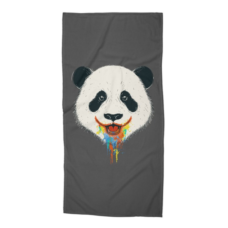 PANDA Accessories Beach Towel by netralica's Artist Shop