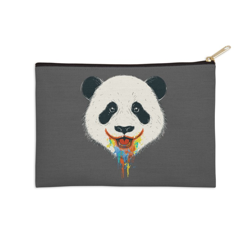 PANDA Accessories Zip Pouch by netralica's Artist Shop