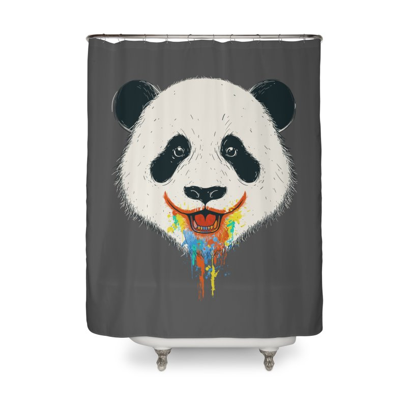 PANDA Home Shower Curtain by netralica's Artist Shop
