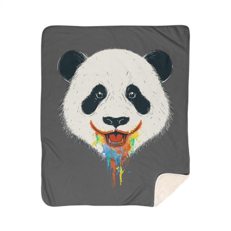 PANDA Home Sherpa Blanket Blanket by netralica