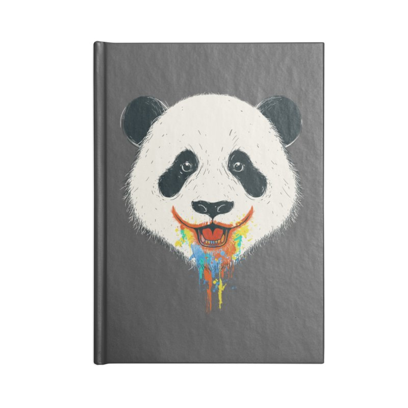 PANDA Accessories Lined Journal Notebook by netralica
