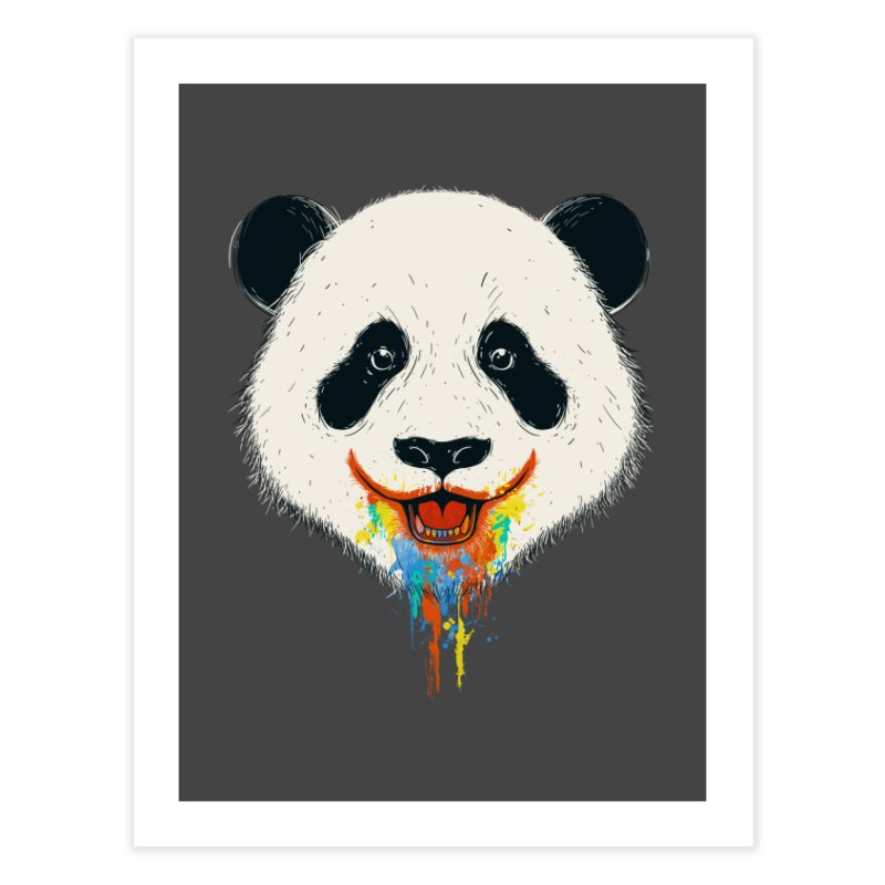 PANDA Home Fine Art Print by netralica