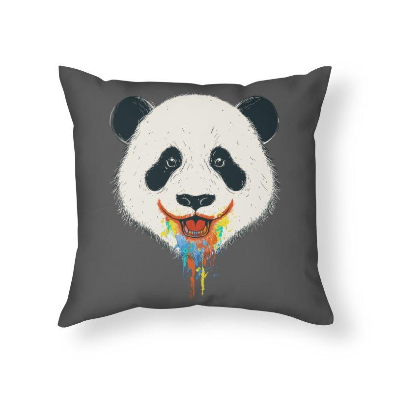 PANDA Home Throw Pillow by netralica's Artist Shop