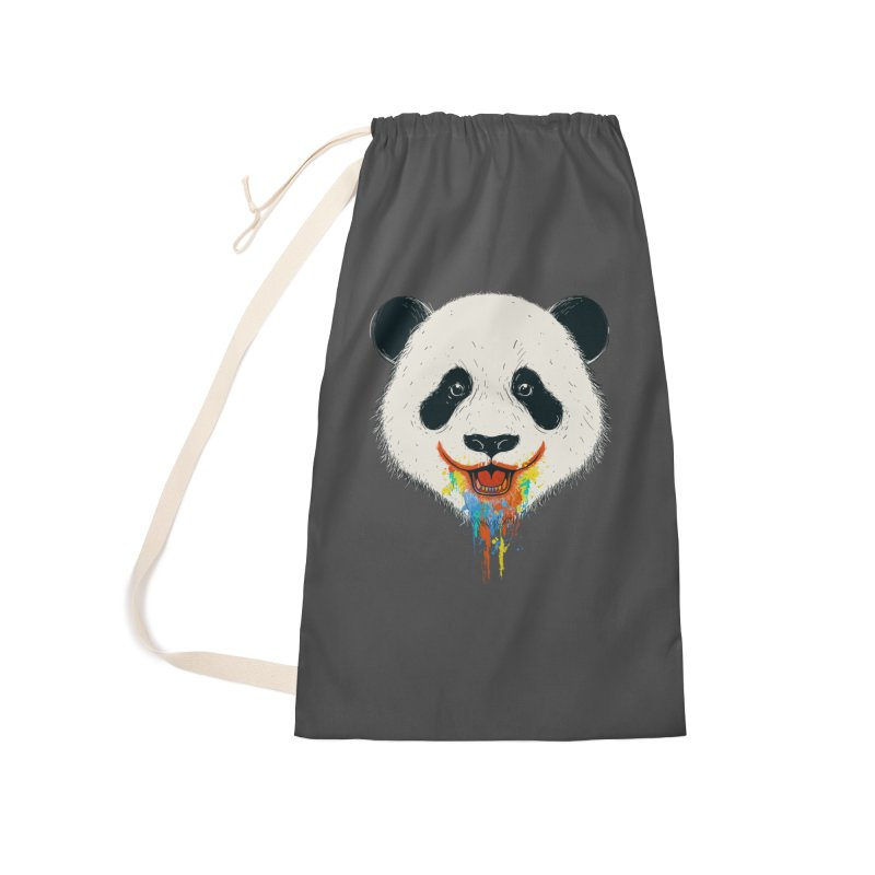 PANDA Accessories Laundry Bag Bag by netralica's Artist Shop