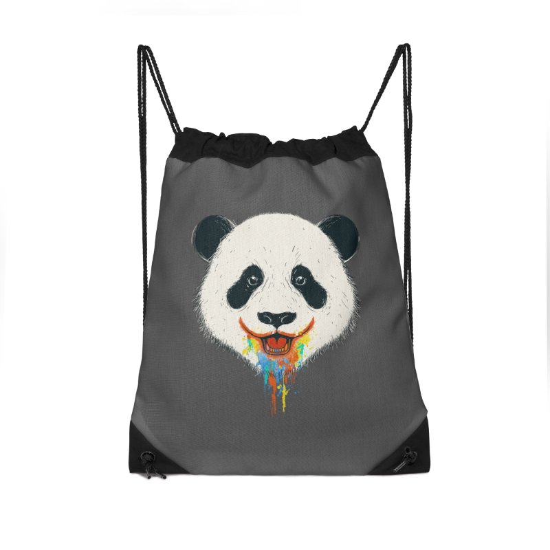PANDA Accessories Drawstring Bag Bag by netralica's Artist Shop