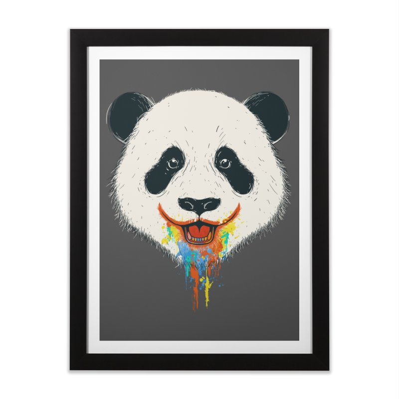 PANDA Home Framed Fine Art Print by netralica