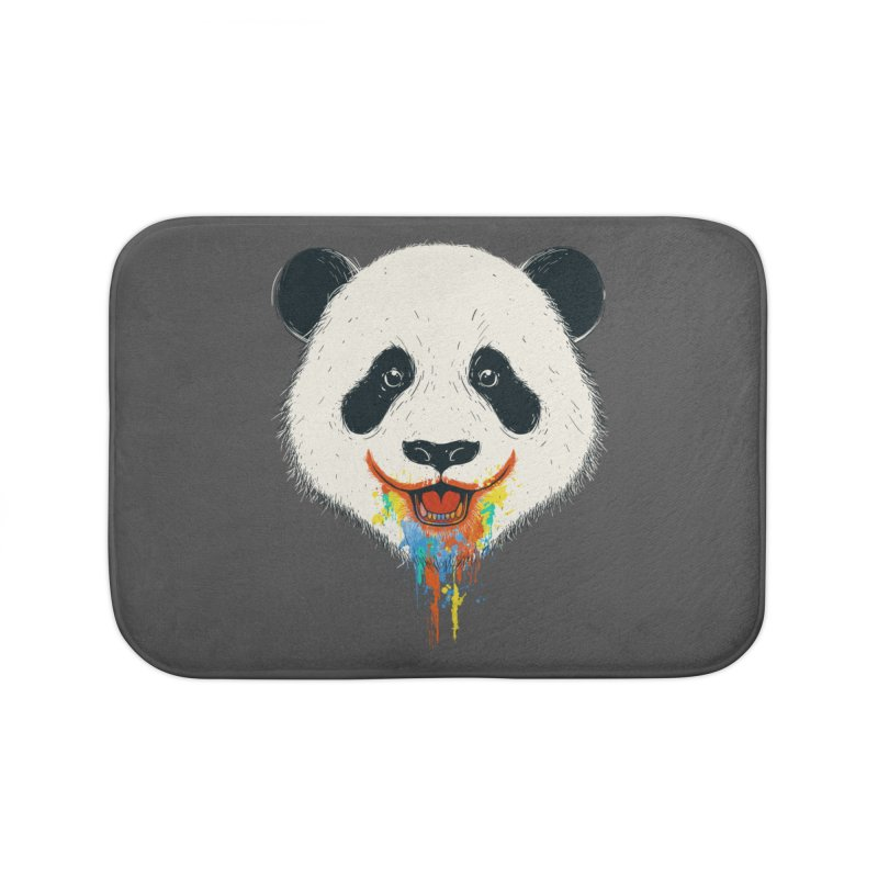PANDA Home Bath Mat by netralica's Artist Shop
