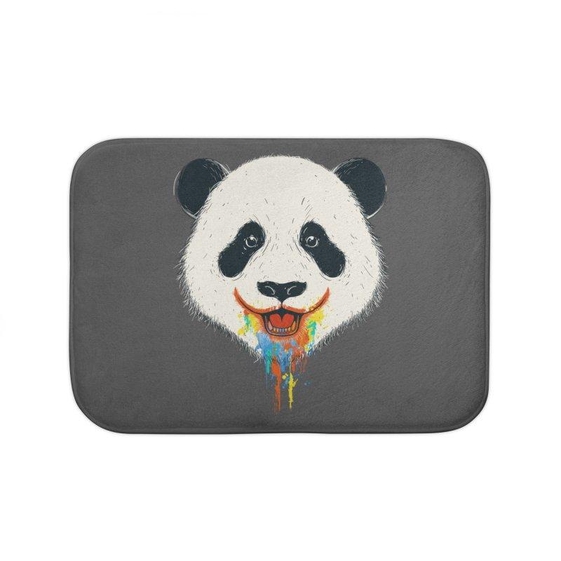 PANDA Home Bath Mat by netralica's Artist Shop