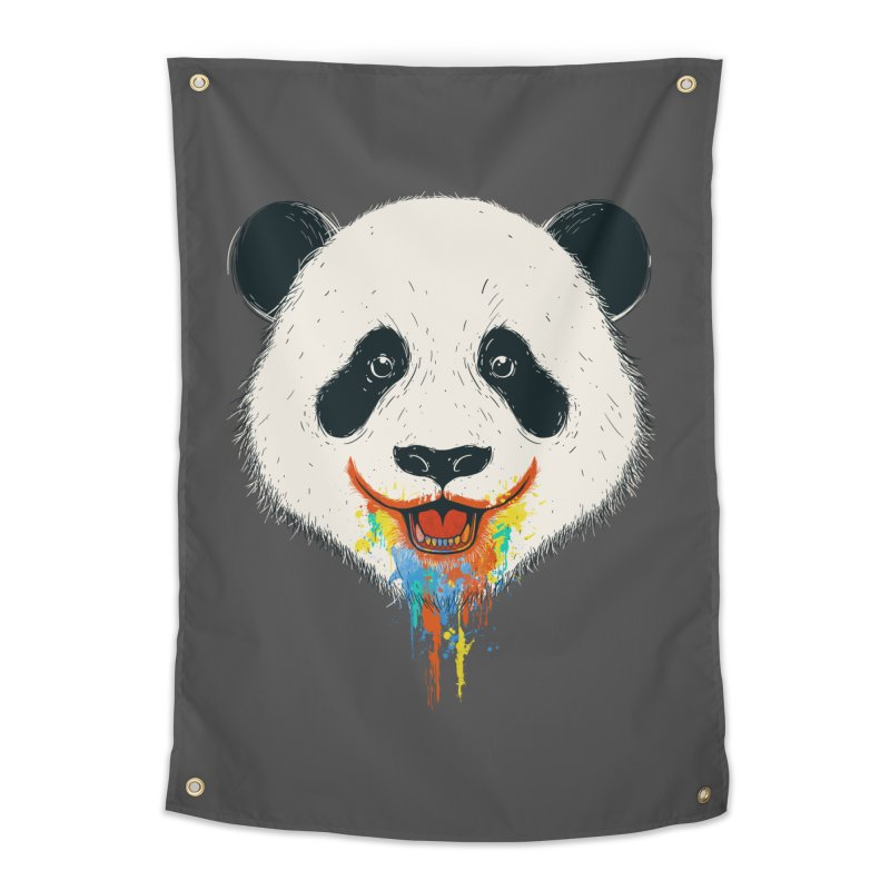 PANDA Home Tapestry by netralica's Artist Shop