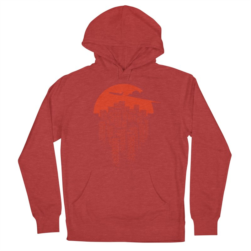 say goodbye to the city Women's Pullover Hoody by netralica's Artist Shop