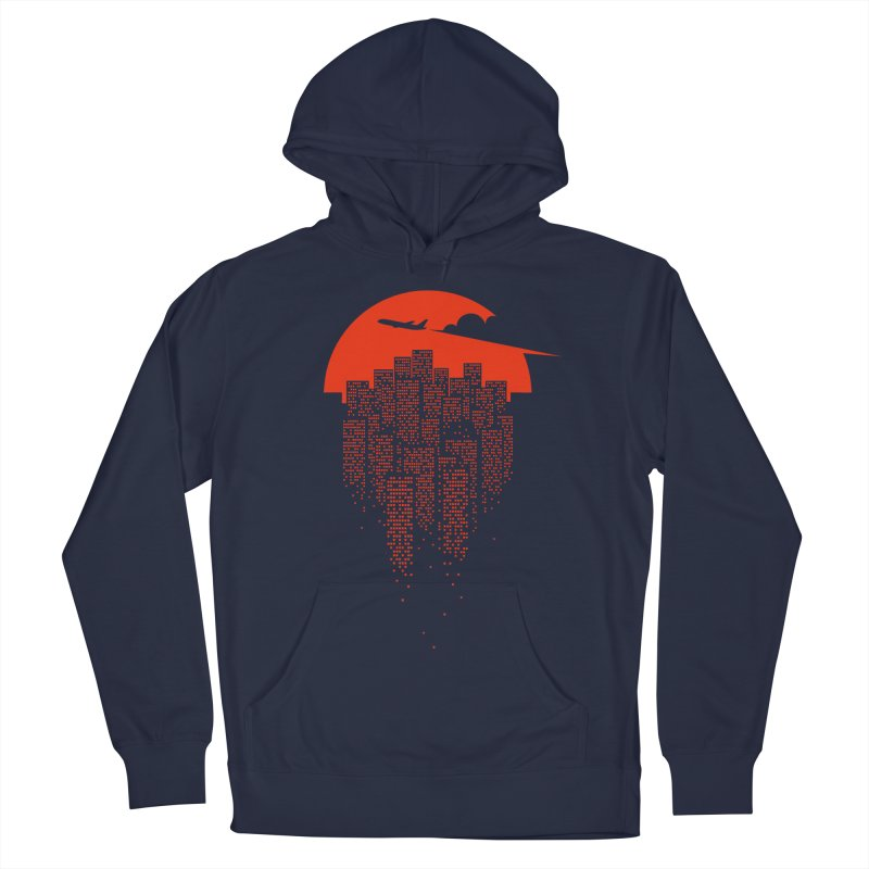 say goodbye to the city Men's Pullover Hoody by netralica's Artist Shop