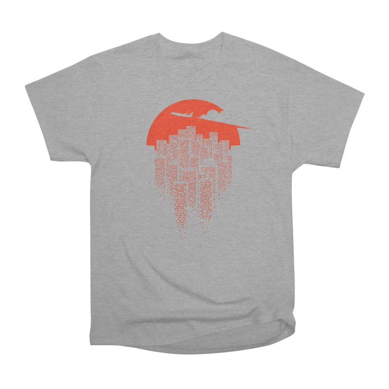 say goodbye to the city Women's Heavyweight Unisex T-Shirt by netralica's Artist Shop
