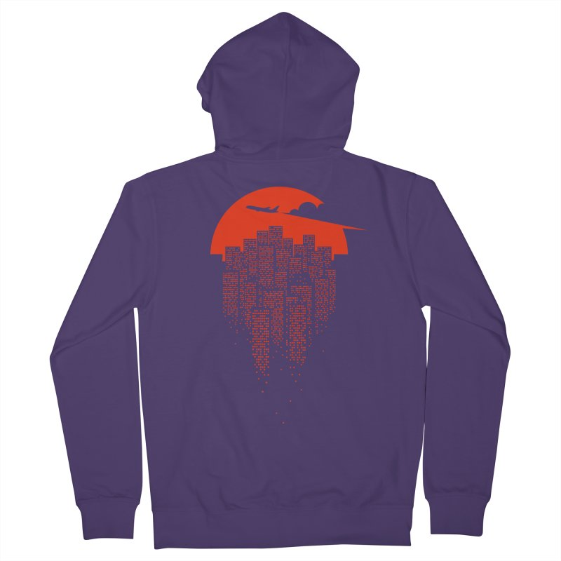 say goodbye to the city Women's Zip-Up Hoody by netralica's Artist Shop
