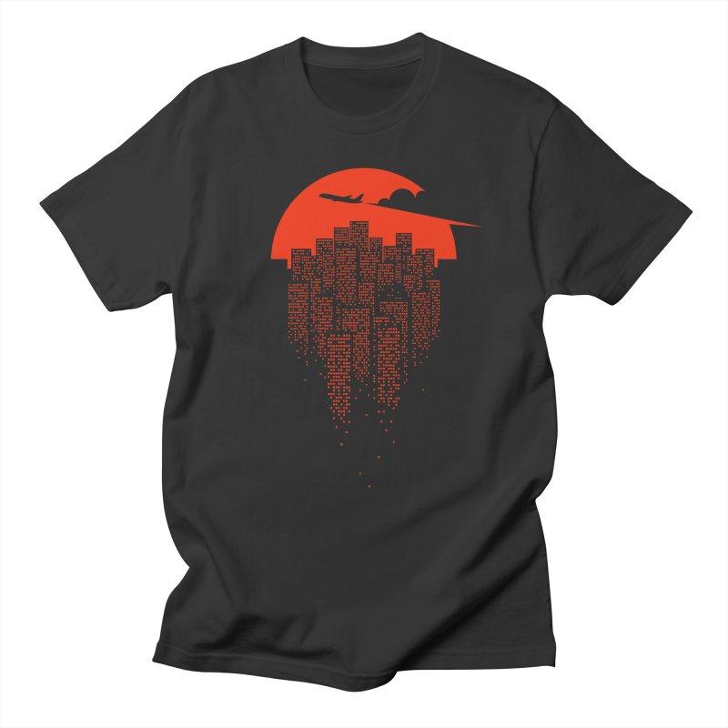 say goodbye to the city Women's Regular Unisex T-Shirt by netralica's Artist Shop