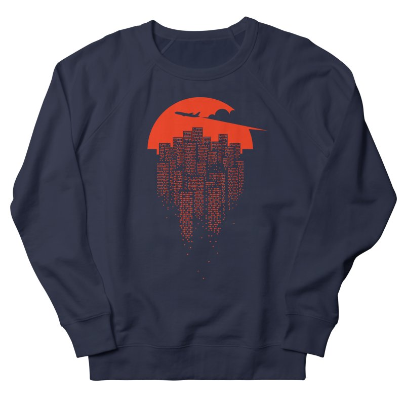 say goodbye to the city Men's Sweatshirt by netralica's Artist Shop