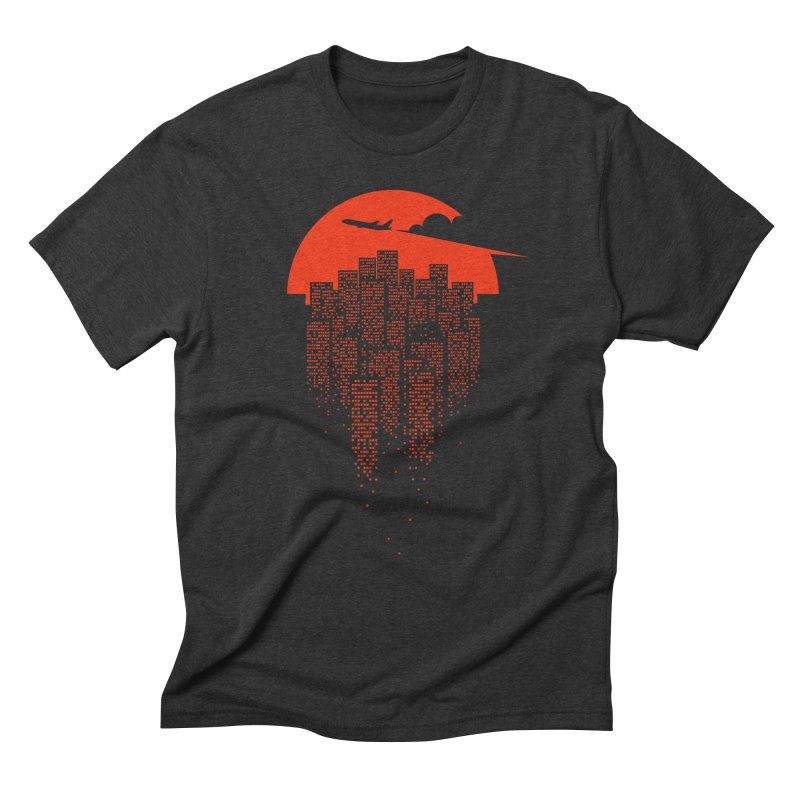 say goodbye to the city Men's Triblend T-Shirt by netralica's Artist Shop