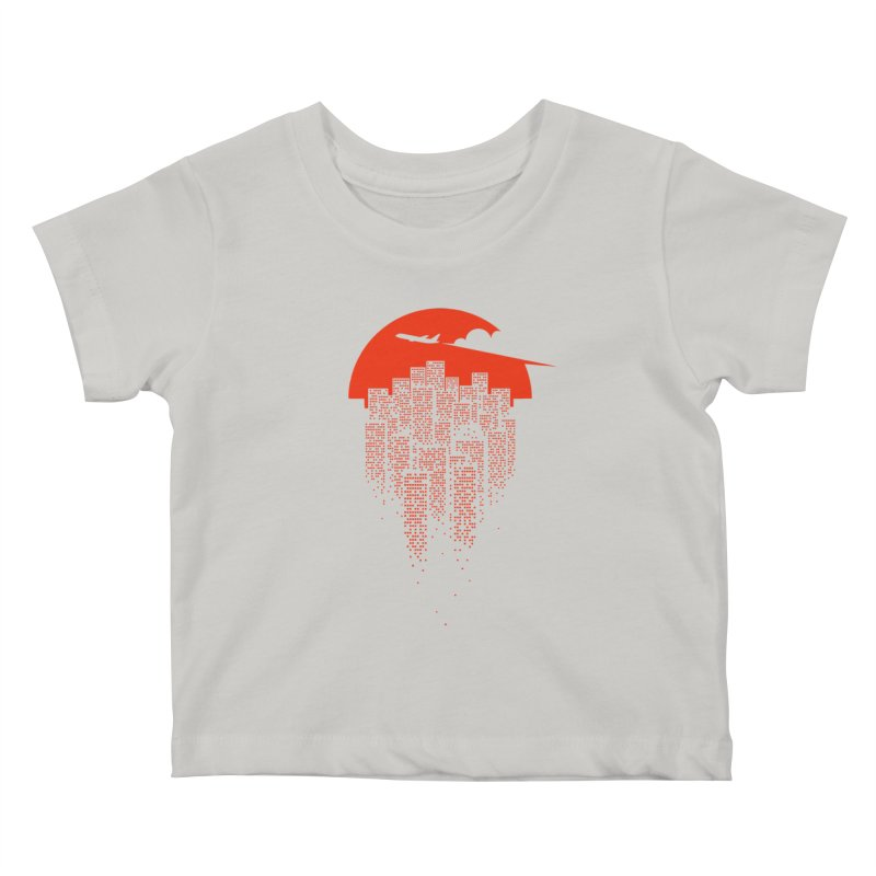 say goodbye to the city Kids Baby T-Shirt by netralica's Artist Shop