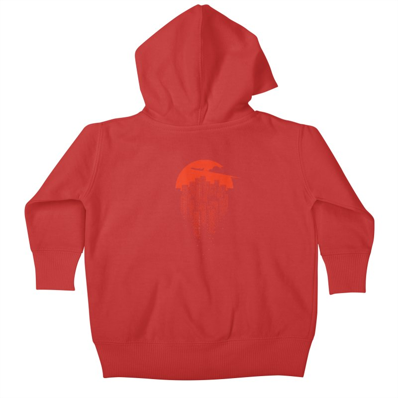 say goodbye to the city Kids Baby Zip-Up Hoody by netralica's Artist Shop