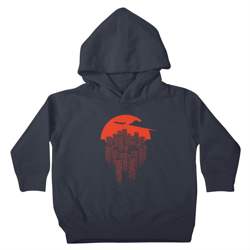 say goodbye to the city Kids Toddler Pullover Hoody by netralica's Artist Shop