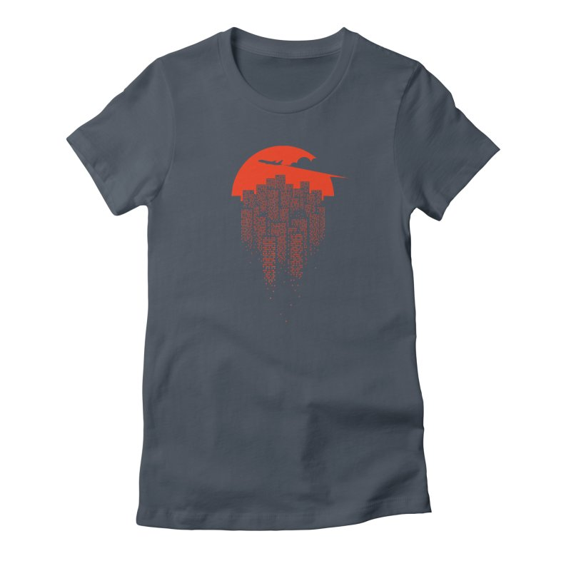 say goodbye to the city Women's T-Shirt by netralica's Artist Shop