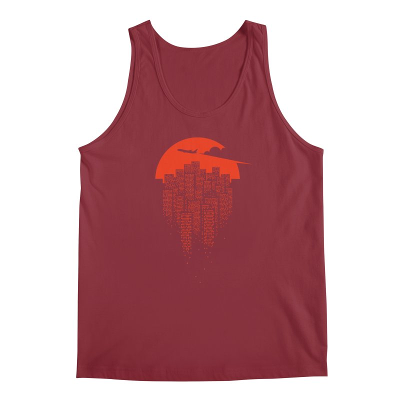 say goodbye to the city Men's Tank by netralica's Artist Shop