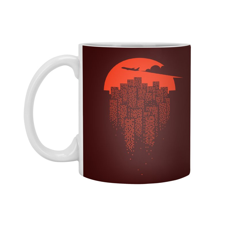 say goodbye to the city Accessories Mug by netralica's Artist Shop