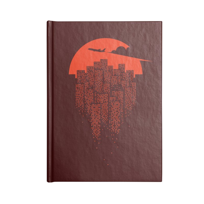 say goodbye to the city Accessories Notebook by netralica's Artist Shop
