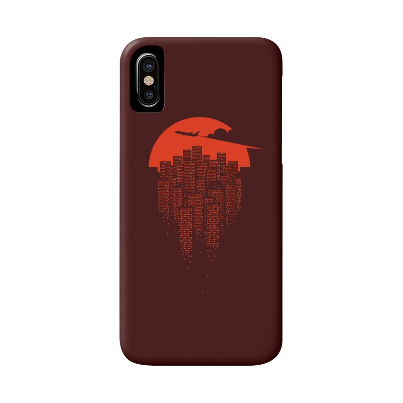 say goodbye to the city Accessories Phone Case by netralica's Artist Shop