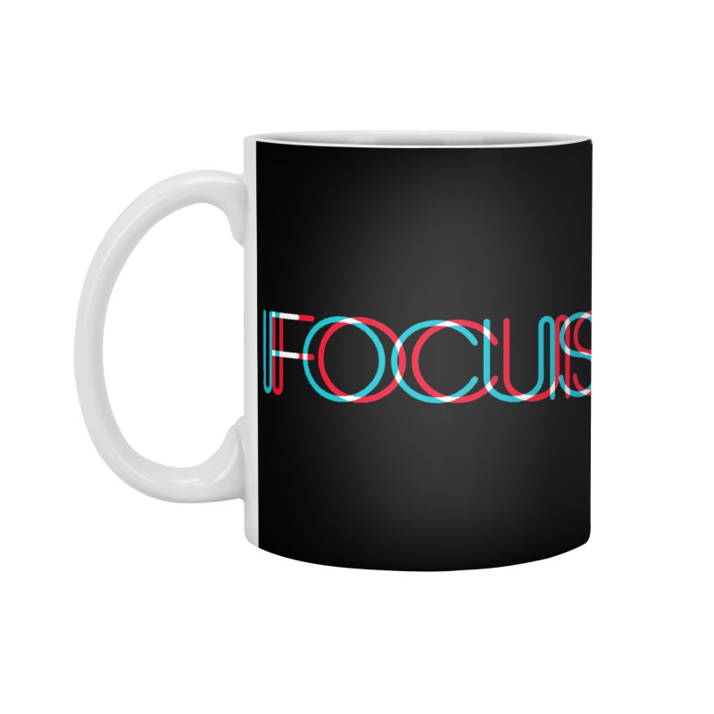 FOCUS Accessories Mug by netralica's Artist Shop