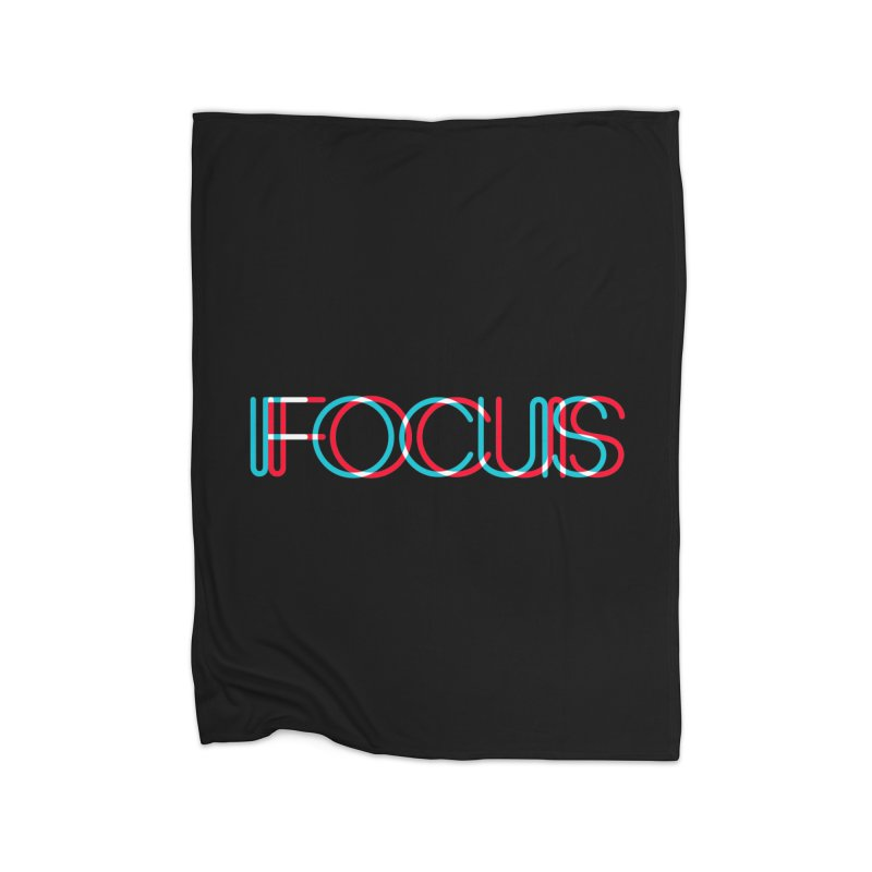 FOCUS Home Blanket by netralica's Artist Shop
