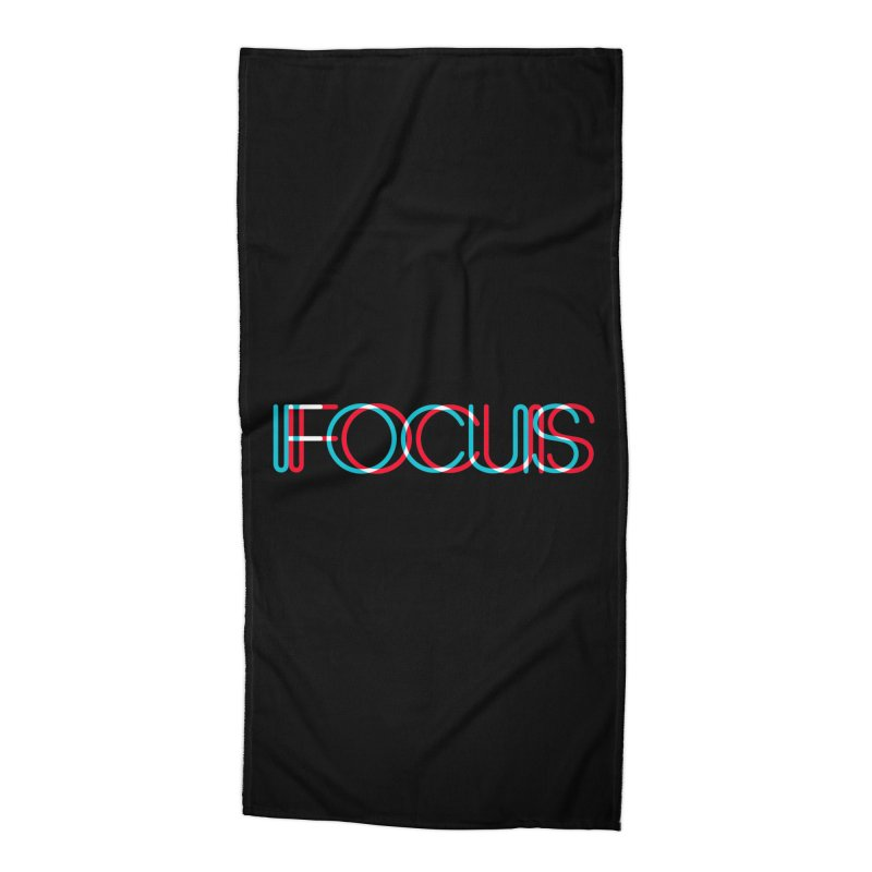 FOCUS Accessories Beach Towel by netralica's Artist Shop