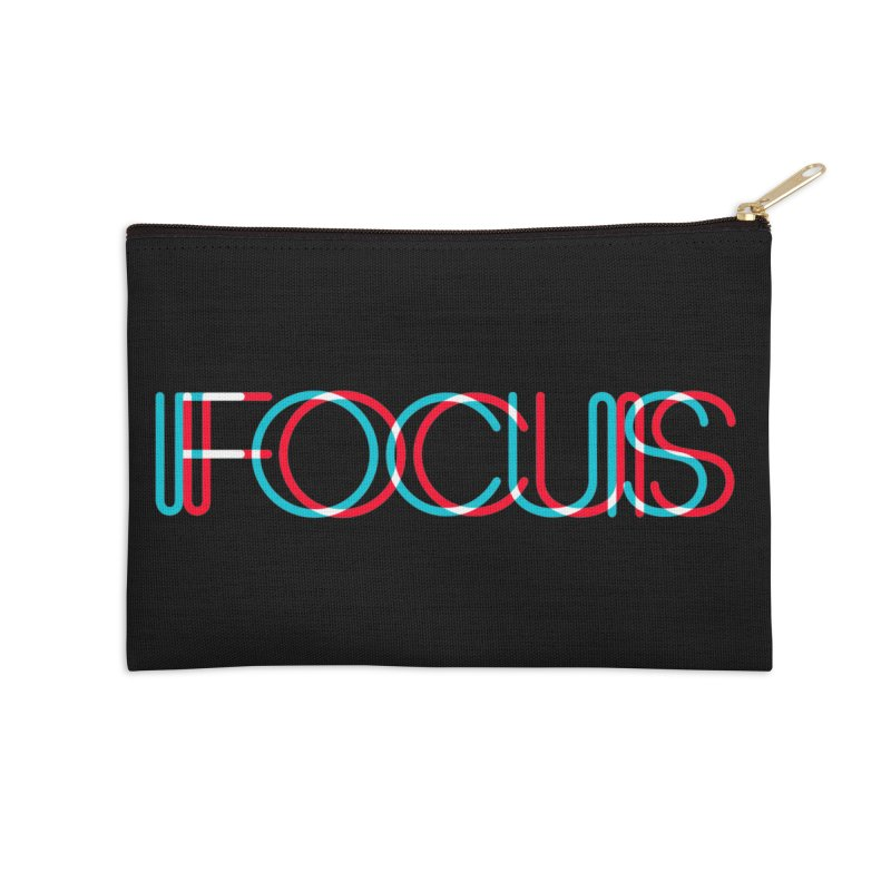 FOCUS Accessories Zip Pouch by netralica