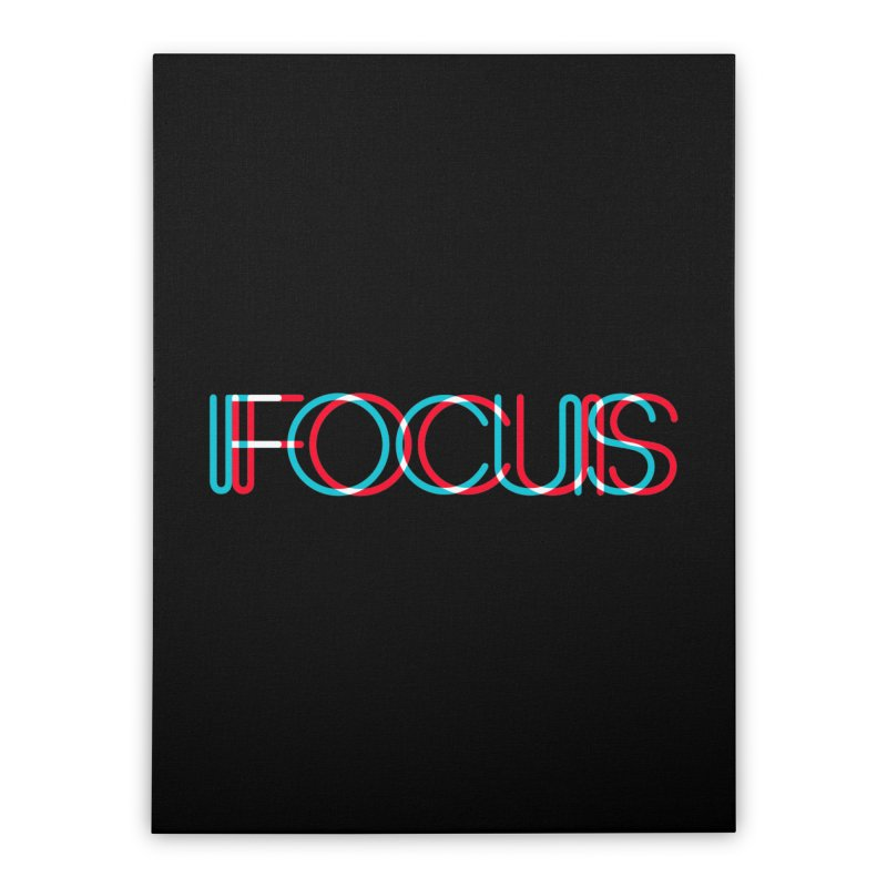 FOCUS Home Stretched Canvas by netralica