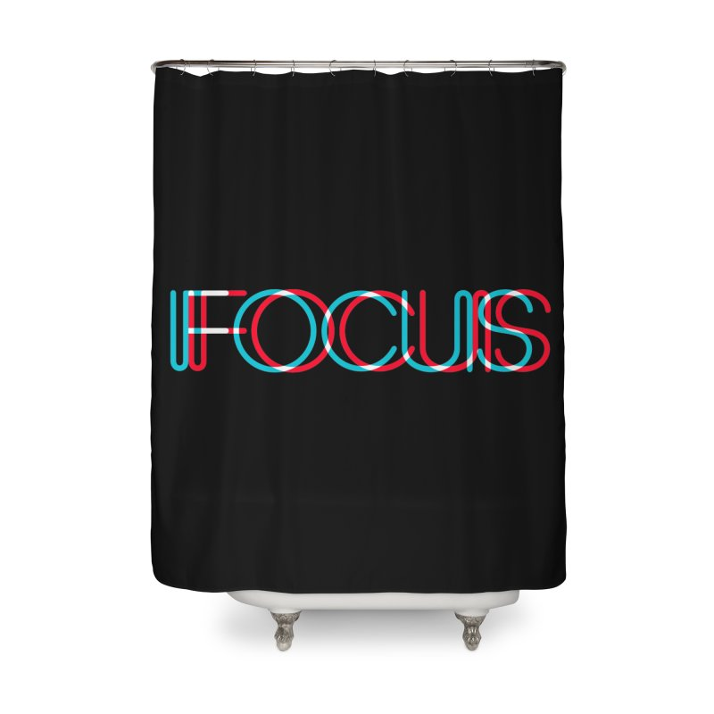FOCUS Home Shower Curtain by netralica's Artist Shop