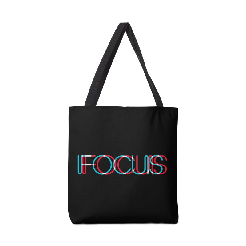FOCUS Accessories Tote Bag Bag by netralica's Artist Shop
