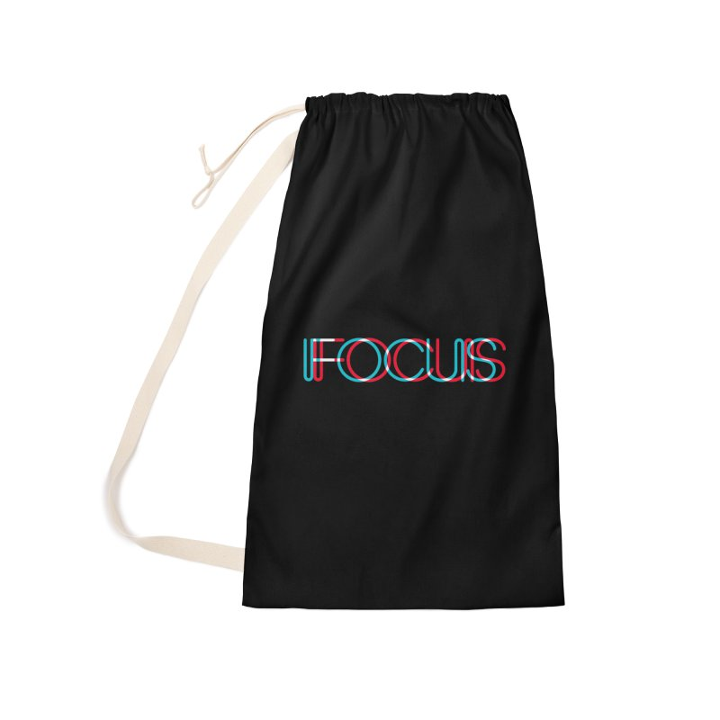 FOCUS Accessories Laundry Bag Bag by netralica's Artist Shop