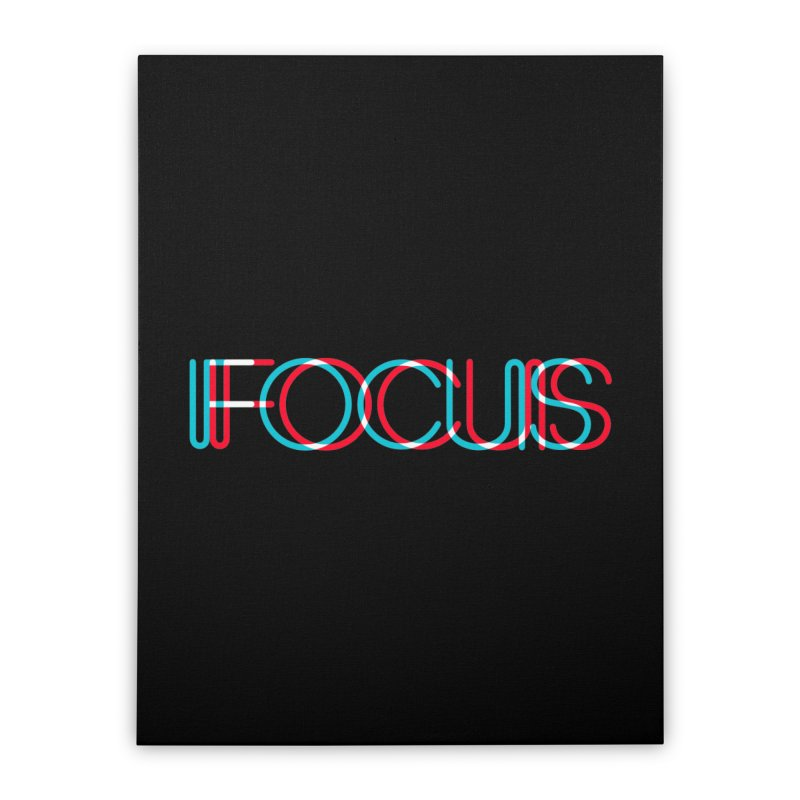 FOCUS Home Stretched Canvas by netralica's Artist Shop