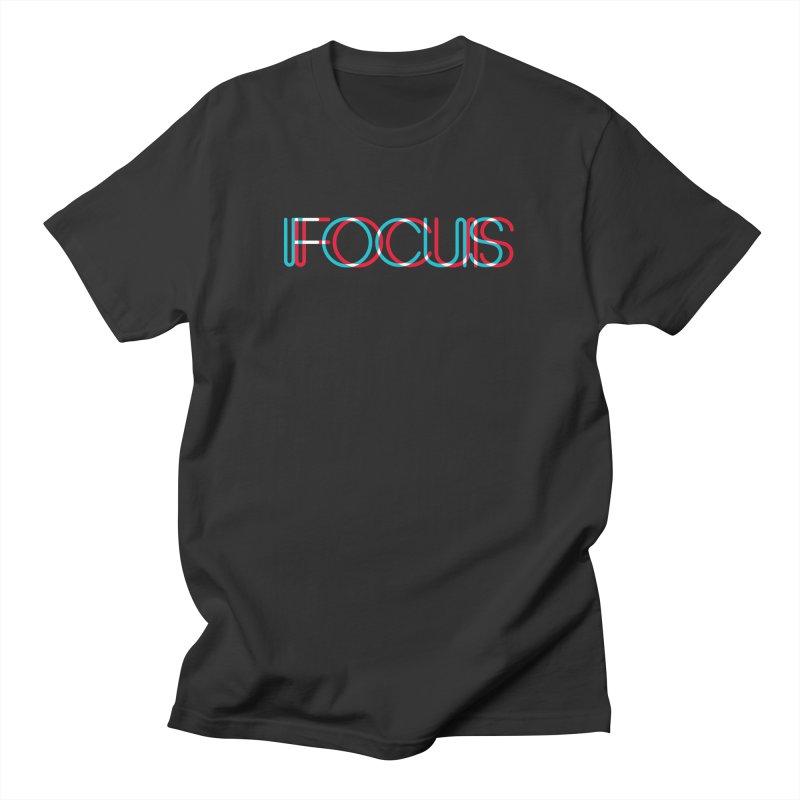 FOCUS Men's T-Shirt by netralica