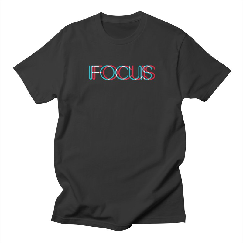FOCUS Men's T-Shirt by netralica