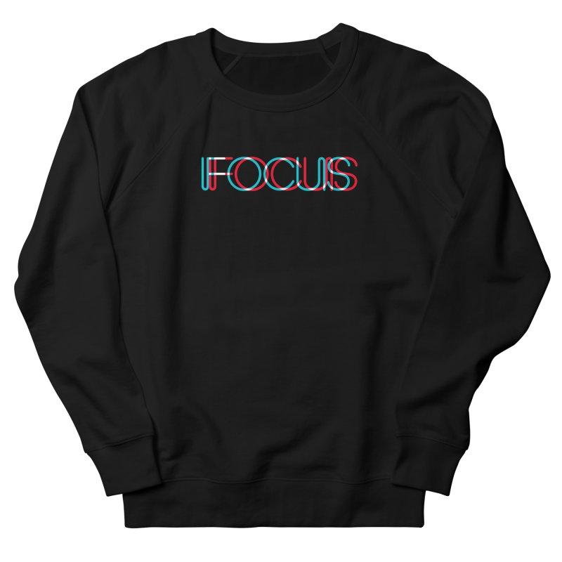 FOCUS Women's French Terry Sweatshirt by netralica's Artist Shop