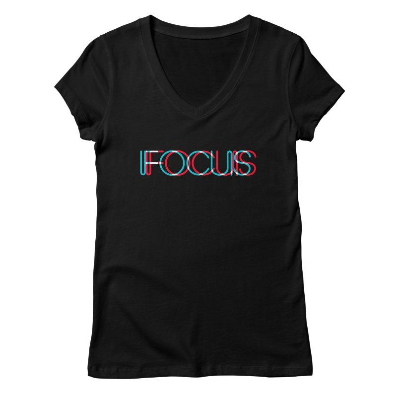 FOCUS Women's V-Neck by netralica