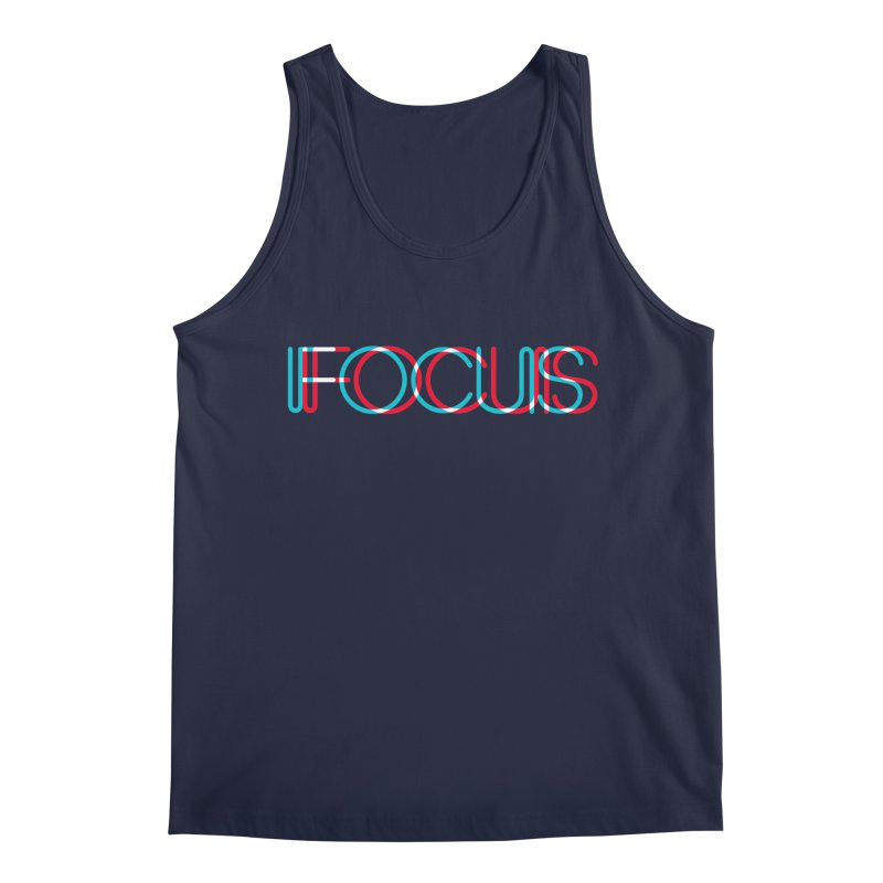 FOCUS Men's Tank by netralica